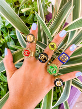 Lyndsey Leigh Button Rings ($72-$84)