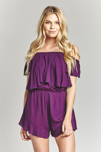 Purple Passion Romper