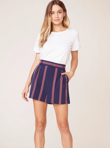 End of the Line Striped Short