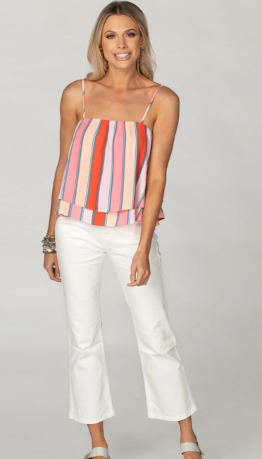 Fruit Stripe Swing Tank