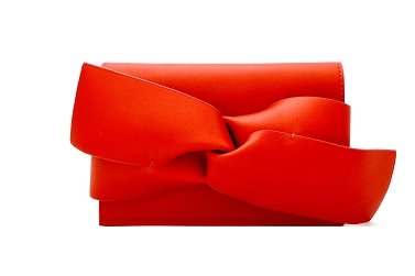 Red Bow Clutch