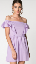 Lilac Off Shoulder Dress