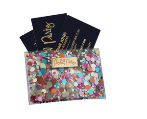 Confetti Business Card Holder