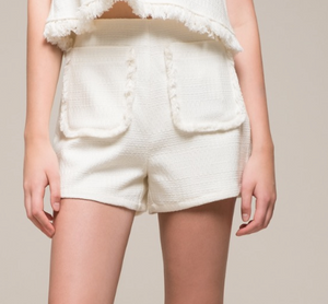 Fringe Detail Shorts