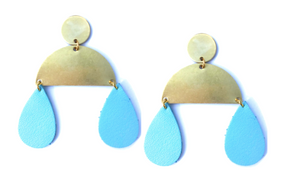 Leather Raindrops (Multiple Color Options)