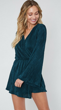 Hunter Green Romper