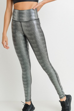 Silver Foil Leggings