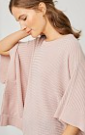 Pink Square Cut Sweater