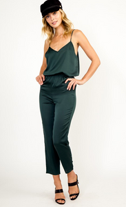 Hunter Green Jumpsuit