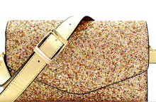 Glitter 2 Way Fanny Pack-Gold or Taupe