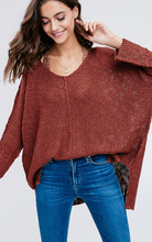 Berry Luxe Sweater