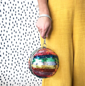 Disco Ball Clutch