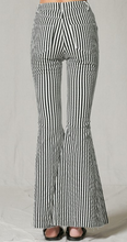 Ultra Flare Striped Jeans
