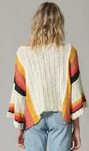 Color Block Light Weight Sweater