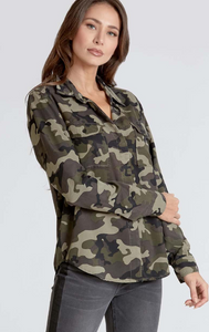 Mandy Camo Top