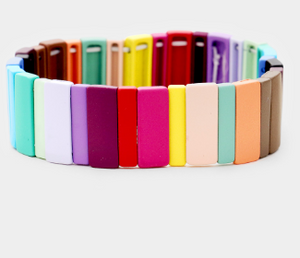 Medium Candy Block Bracelet