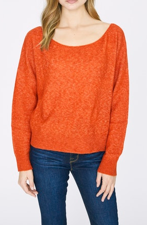 Orange Chill Out Sweater
