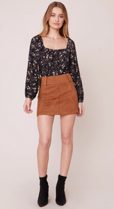 Suede Secret Faux Suede Skirt