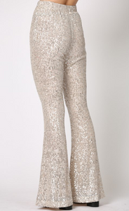 Disco High Waisted Flares
