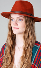 Wool Fedora- 3 Colors