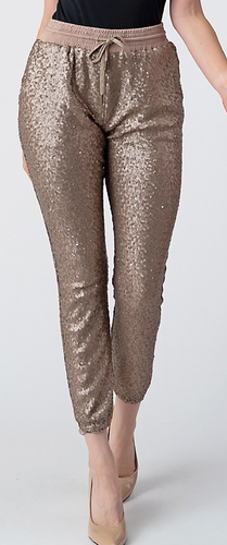 Sequin Joggers