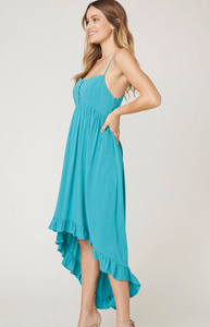 Slate High Low Dress
