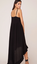 Black High Low Dress