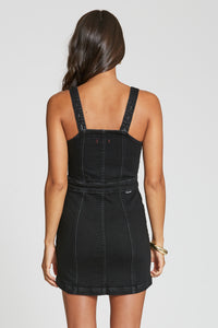 Felicity Black Mini Dress