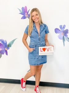 Denim Outlaw Dress