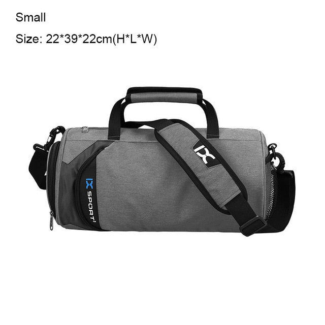... INOXTO Fitness Sport Small Gym Bag with Shoes Compartment Waterproof  Travel Duffel Bag for Women and ... e79a07783a0cf