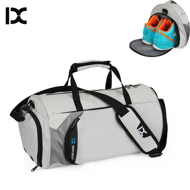 82fc920581a ... INOXTO Fitness Sport Small Gym Bag with Shoes Compartment Waterproof  Travel Duffel Bag for Women and ...