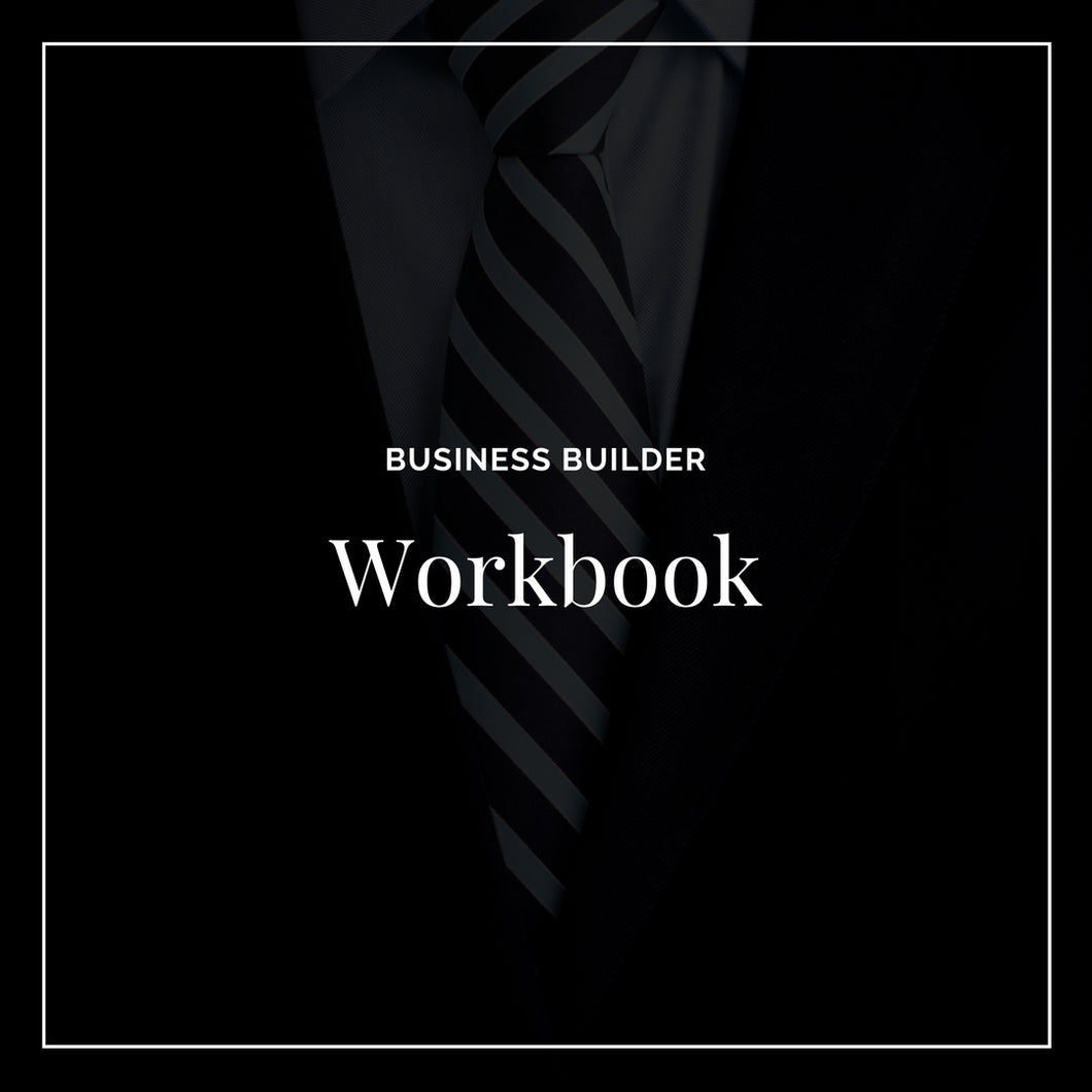 Business Builder Workbook