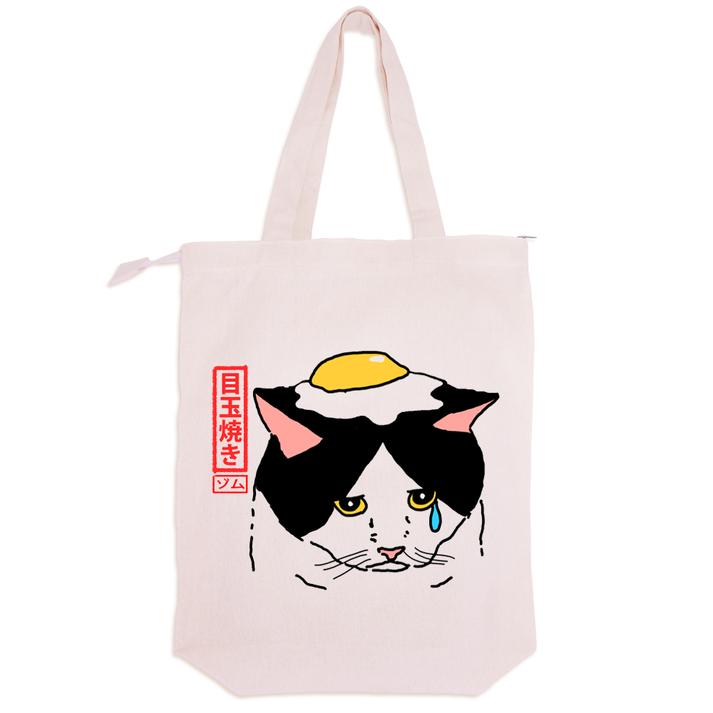 FRIEND EGG TOTE BAG  x artsykit®