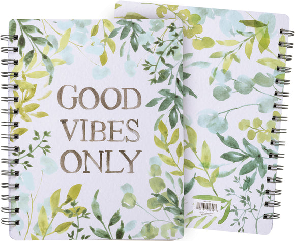 Good Vibes Spiral Notebook