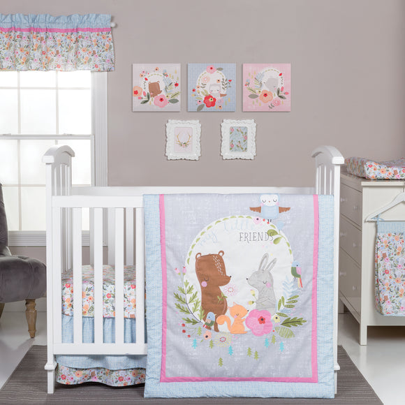 My Little Friend Crib Bedding Set