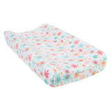 Floral Baby Changing Pad Cover