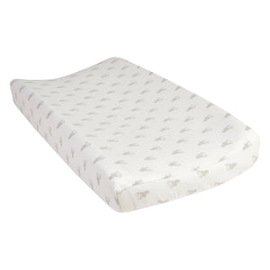 Gray Stag Silhouettes Changing Pad Cover