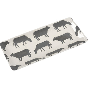 Rectangle Cow Platter