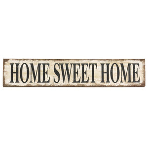 Home Sweet Home Canvas Sign