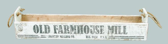 Old Farmhouse Mill Box