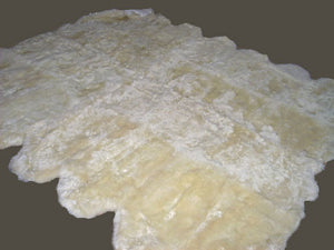Ten Pelt Sheepskin Rug