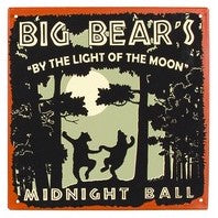 """Big Bears"" Metal Sign"
