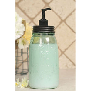 Quart Mason Jar Soap Dispenser