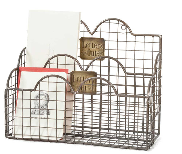 Wire Hanging Mail Caddy