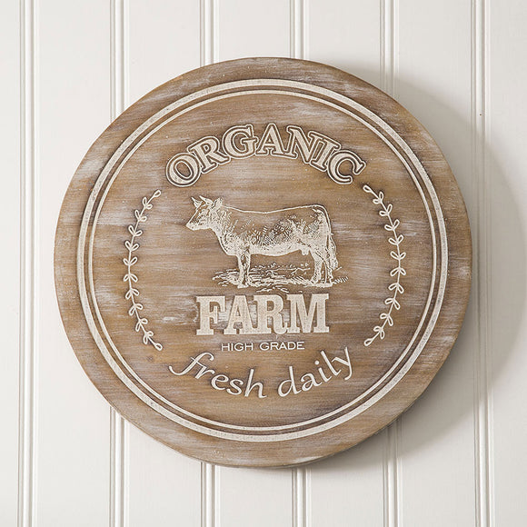 Farm Wooden Lazy Susan