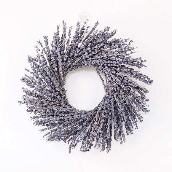 Lavender Wreath Small