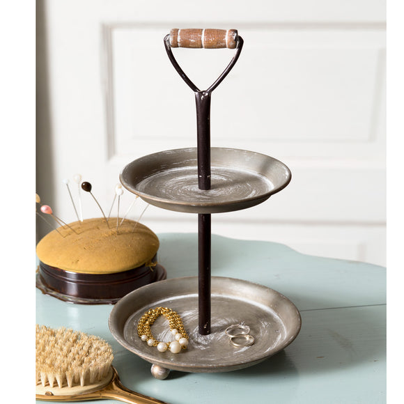 Two-Tier Mini Display Tray