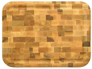 Reversible End Grain Cutting Board -16""