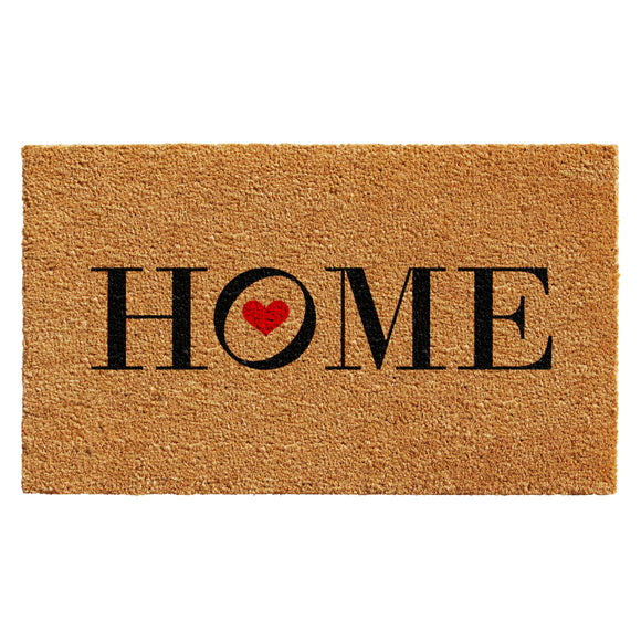 Heart Home Doormat