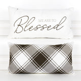 We Are So Blessed Pillow